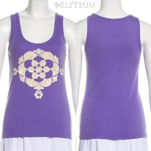 Tory Burch sequin lotus flower tank